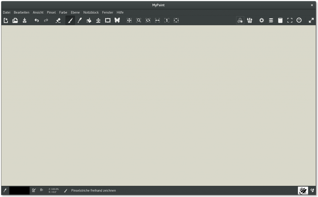 MyPaint 1.2 Screenshot1