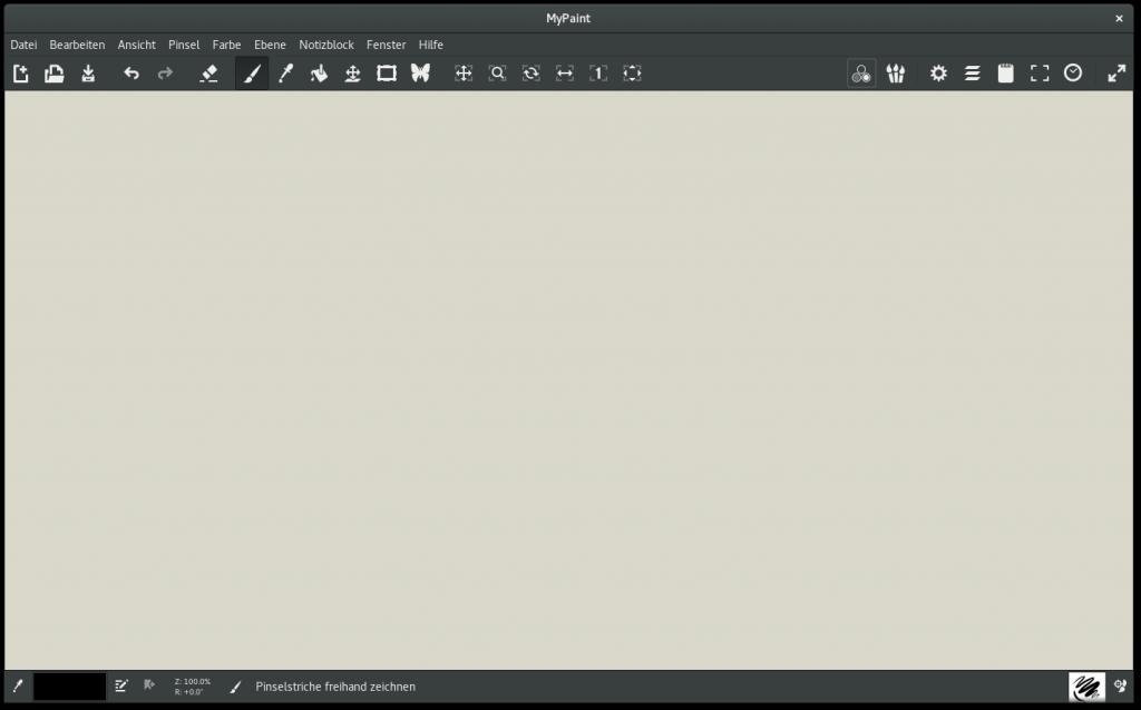 MyPaint 1.2 Screenshot1