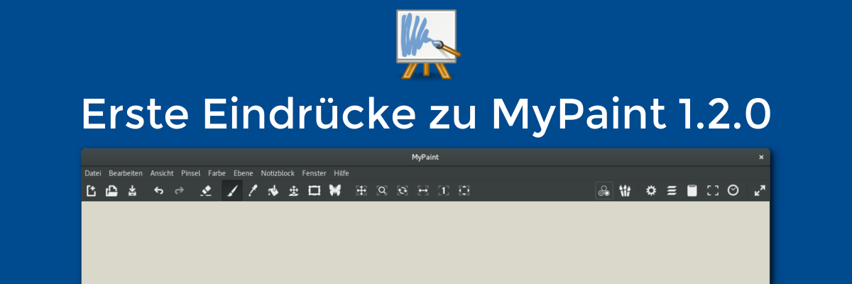 Erste Eindrücke zu MyPaint 1.2.0