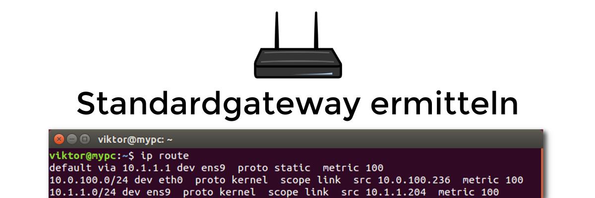 Standardgateway unter Linux ermitteln