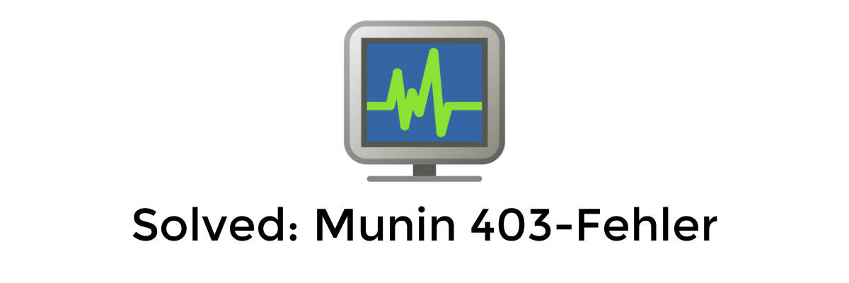 Solved: Error 403 in Munin