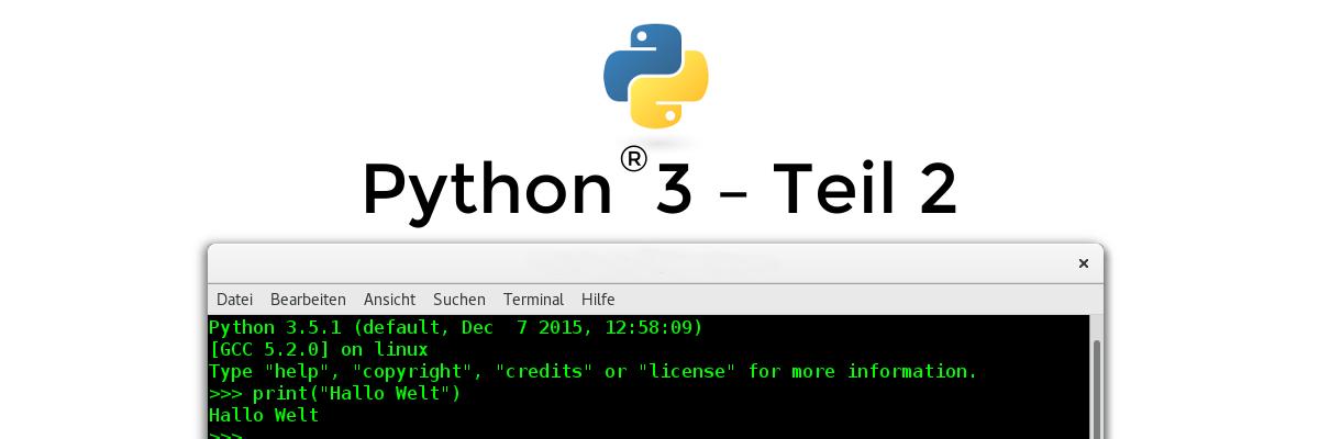 Python 3 – Nur eine Schlange? – Teil 2