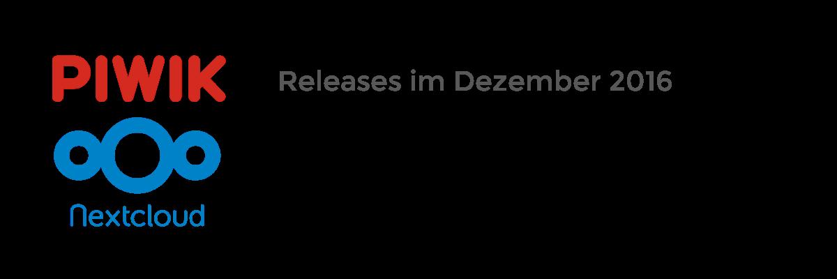Updates für NextCloud 11 und Piwik 3