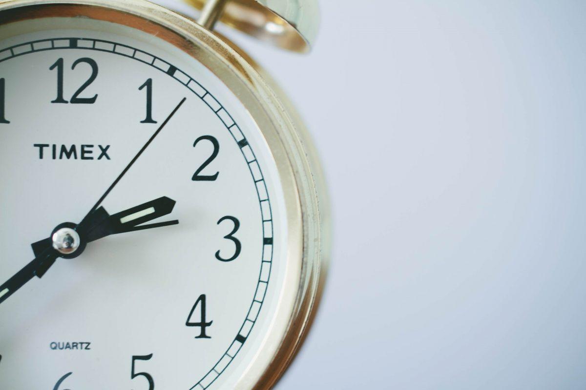 Warum die Uhren nachgehen